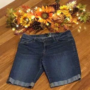 Apt 9 Bermuda Jean Shorts